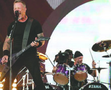 Metallica gana premio Polar 2018