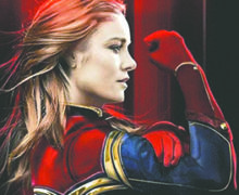 "Arranca rodaje de ""Captain Marvel"",  la superheroína de Marvel que intentará  desbancar a Wonder Woman"