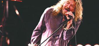 Robert Plant planea sorpresa por el aniversario de Led Zeppelin