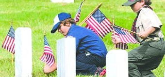 Jeff Gonzalez, candidate for the 56Th Assembly District is asking for Flag Placement Volunteers on Memorial Day at Coachella Valley Public Cemetery, 82925 Avenue 52, Coachella