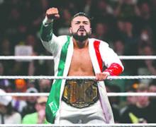 El Luchador Mexicano Andrade Cien Almas llega a la WWE