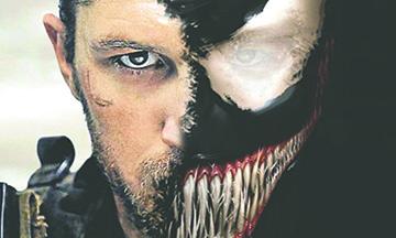 """Así se ve Tom Hardy como """"Venom"""""""