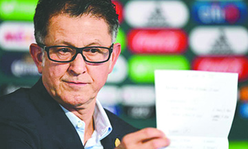 Los siete 'Borrados' de la lista de Juan Carlos Osorio para el Mundial