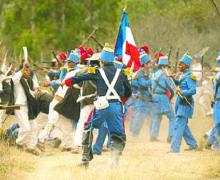 Una Batalla Real, 5 Mayo 1862