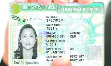 A partir de ahora nadie podrá argumentar que no recibió su 'green card' (tarjeta verde)
