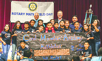 Rotary Math Field Day 2018 a Success!