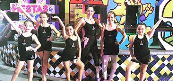 Presentes en Las Fiestas del Sol Brillantes Bailarinas de Lulú Vega Academia de Danza