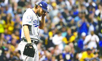 ¿Última salida de Clayton Kershaw con uniforme de los Dodgers?
