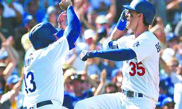 Dodgers venció a Rockies e hizo historia al ligar 6º título en división