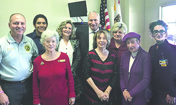 Holiday Open House brings dignitaries to Senator Stones office in Indio