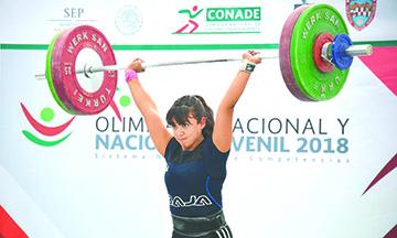 Talentos de Pesas en Ruta a Olimpiada Regional