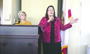 El Grupo de EVRWF Celebraron su Reunión Mensual en Desert Willow