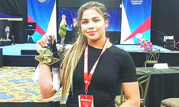 Emmy Velazquez de BC da el Primer Oro a México en Mundial de Pesas