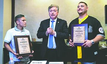 Baja California Honra a Campeones Andy Ruiz Jr. y Pulga Soto