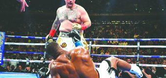 Andy Ruiz: Es como haberle ganado a Mike Tyson