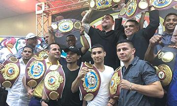 Andy Ruiz reconocido por la OMB y campeones puertorriqueños