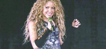 Recuperar mi voz fue un milagro: Shakira