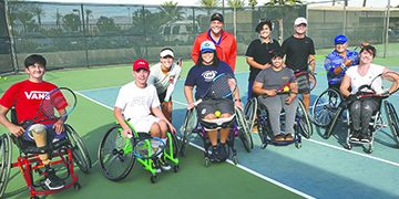 Desert Ability Center, Pbi Tennis, And Jw Marriott Desert Springs Resort & Spa To Host Doubles 1-Up, 1-Down Tournament With Wheelchair Tennis  Players Sunday, January 26