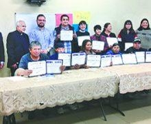 Primera Generación de Graduados del Curso de Alfabetización en la Ciudad de Mecca