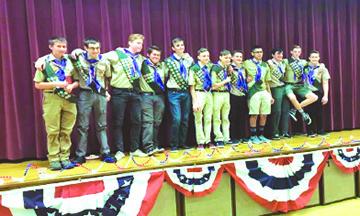 Última Celebración de los  Boys Scouts de América en  las Tropas de Palm Desert