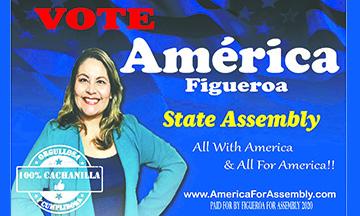 ¡3 de Marzo, Vota por el Cambio, Vota por América Figueroa!