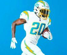 Nuevos uniformes de Chargers presentan un diseño simple y sofisticado