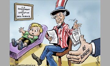 """Los padres necesitan aprender algo.  Las Escuelas de Gobierno, """"alias"""" Escuelas Públicas, desean más poder, no menos."""