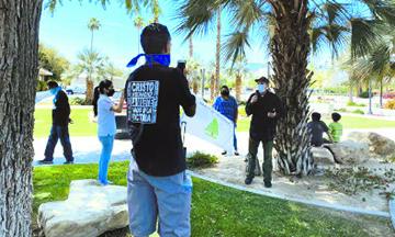 Pastores del Valle de Coachella se reúnen en el Ayuntamiento de Indio en el Día Nacional de Oración