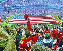 Deportes, una  estrategia de Trump para atraer atención