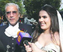 Hija de Alejandro Fernández se casa