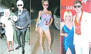 Los disfraces de Halloween más icónicos de los famosos
