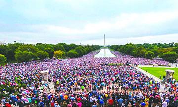Millones de estadounidenses piden perdón a Dios por sus pecados