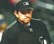 Cinco árbitros latinos en primera ronda de playoffs MLB