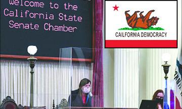 El Senado de California evita que el pueblo revise y decida Proyectos de Ley al suspender la Constitución