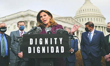 Congresista Republicana pide apoyo a Congresistas  Demócratas para dar Amnistía a Familias Indocumentadas