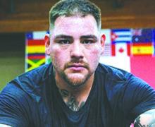 """""""Ya no quiero estar gordo"""": Andy Ruiz presenta línea de ropa motivacional"""