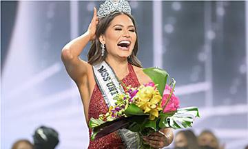 ¡Más de 30 mil cristales! El majestuoso vestido que lució Andrea Meza en Miss Universo 2021