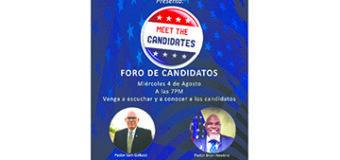 Conozca a los Candidatos al Congreso y Gobernador