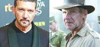¡Trabajará con Harrison Ford! Antonio Banderas se une a 'Indiana Jones 5'