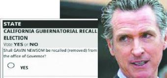 Razones Para Votar SI y Remover al Gobernador Newsom