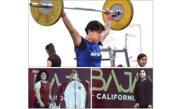 Levantarán siete Atletas de BC en Nacional de Primera Fuerza